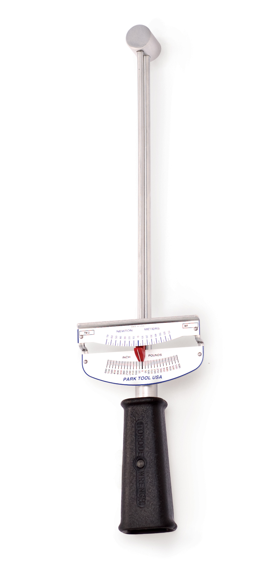 The Park Tool TW-2 Torque Wrench, enlarged