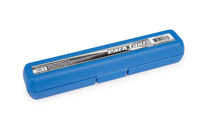 Case for The Park Tool TW-5 Ratcheting Click-Type Torque Wrench, enlarged