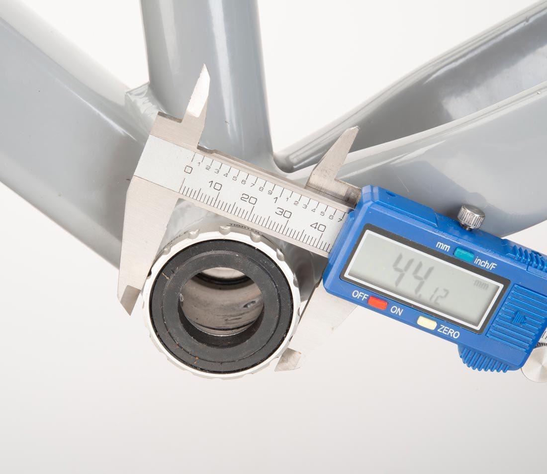 Measure the outside diameter