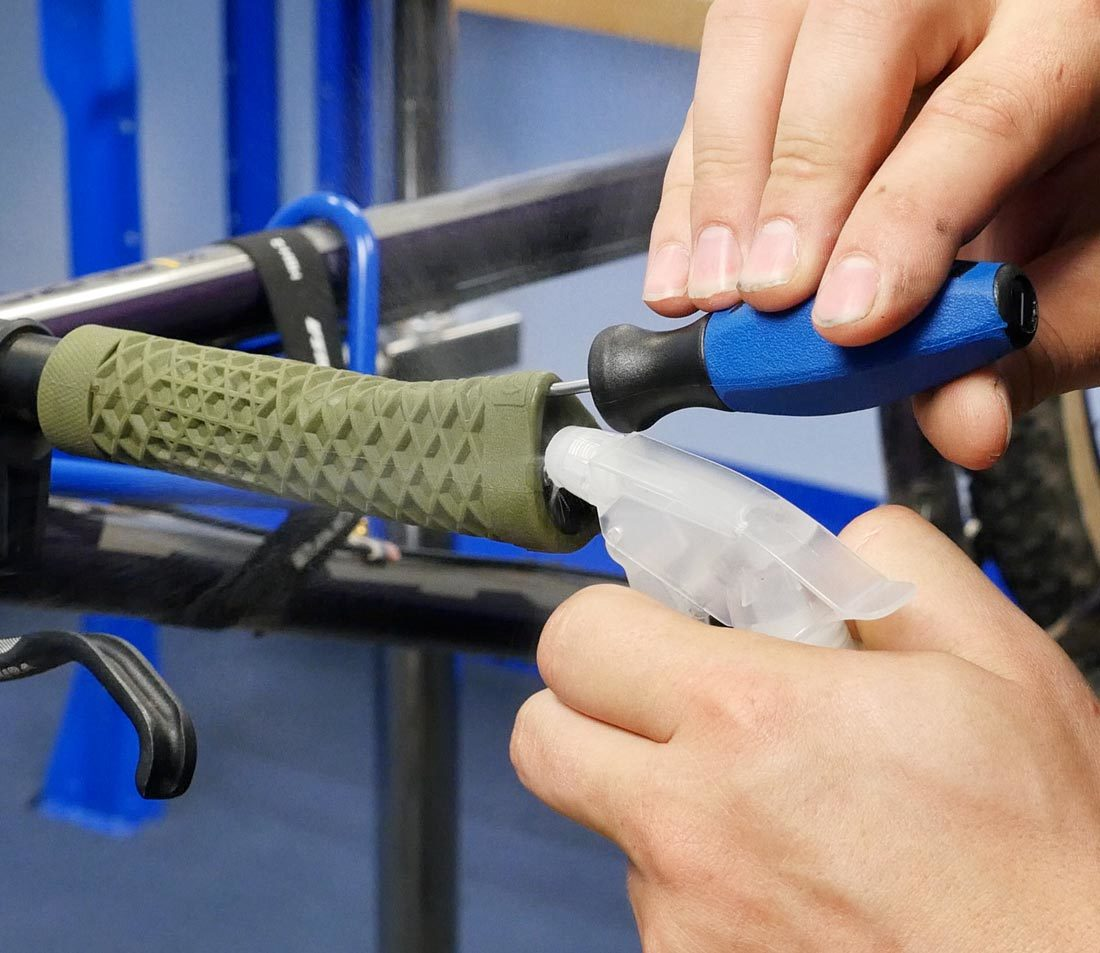 Flat Bar Grips Removal Alcohol