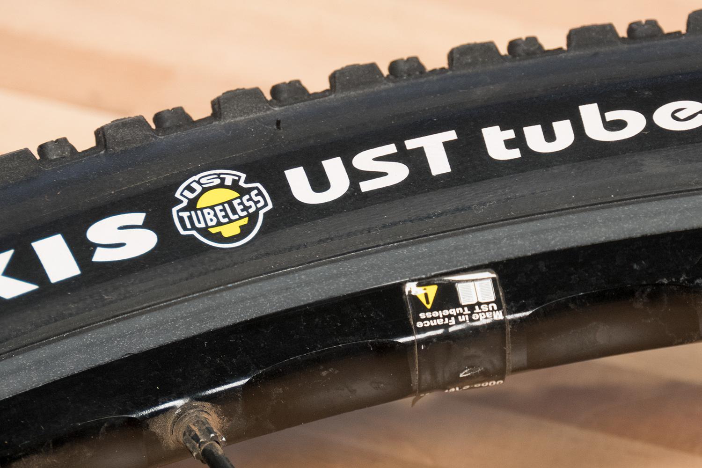 UST logo on UST equipment
