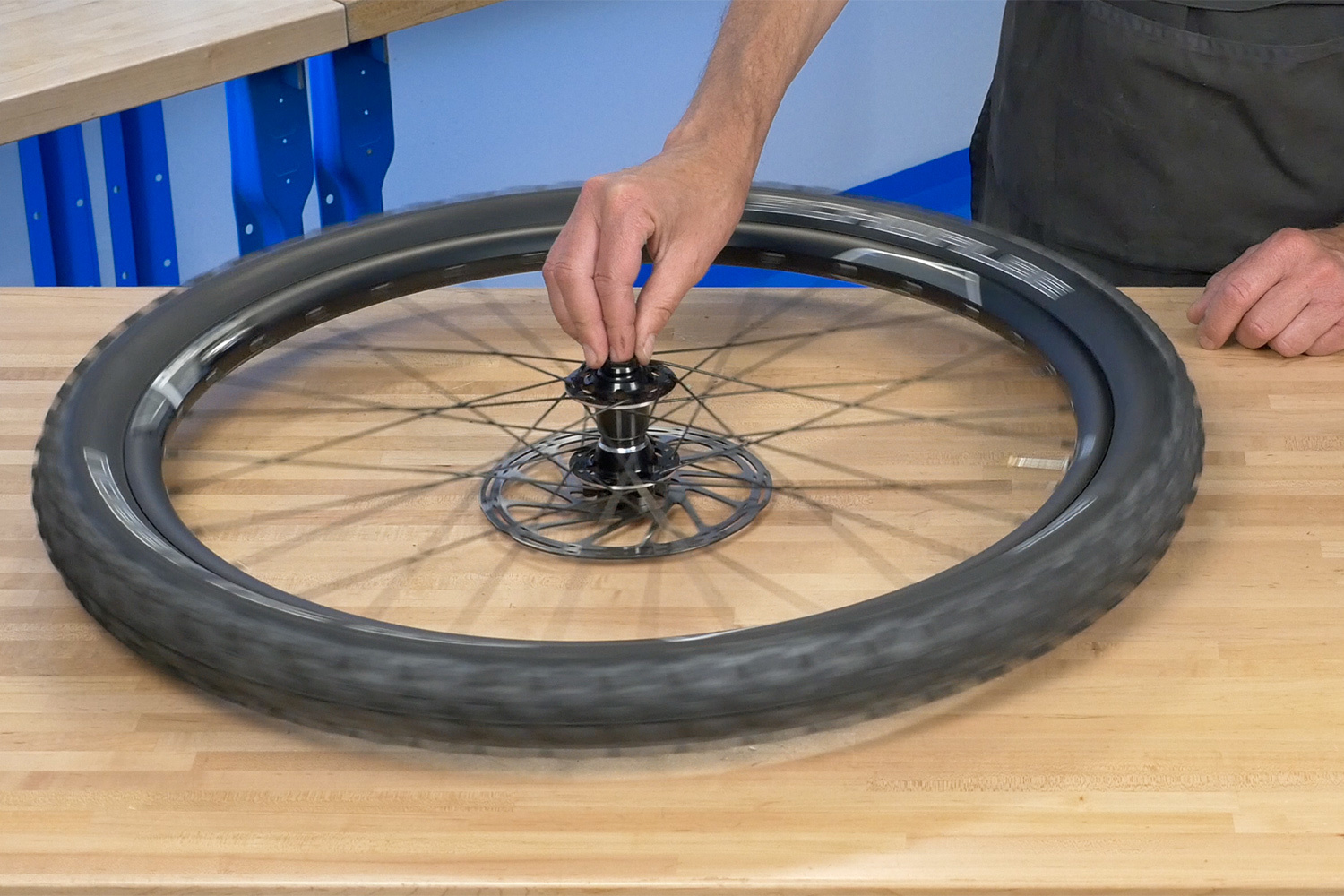 Tubeless Installation 8 Spin