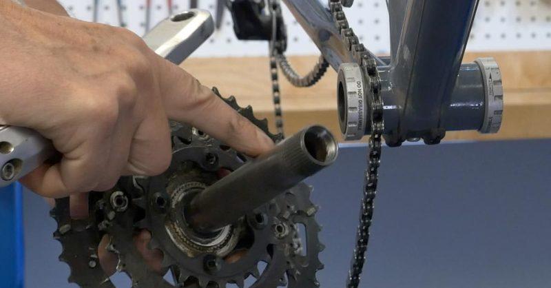 MTB Bicycle Hollow Crankset Removal Tool BB44//BB46 Bottom Bracket Wrench Repair