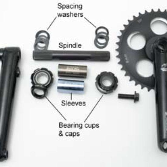 BMX Three Piece Crank Service | Park Tool