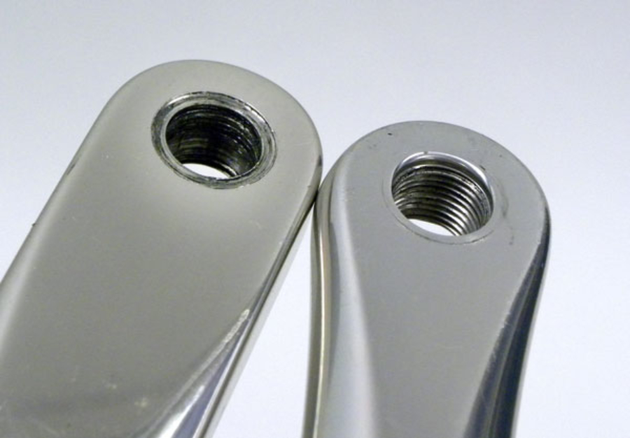 how to fix stripped threads in aluminum