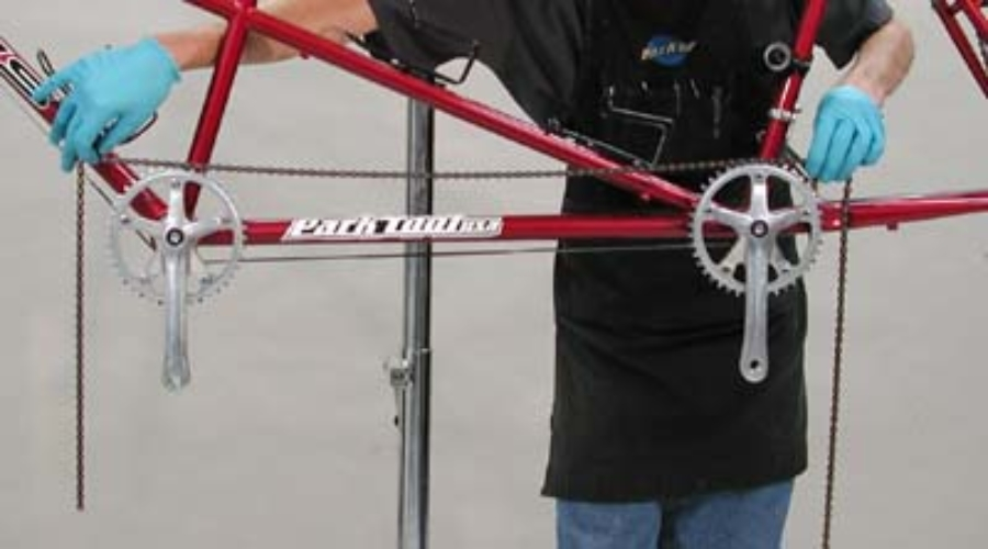 Chain Tension for Tandem Front End | Park Tool