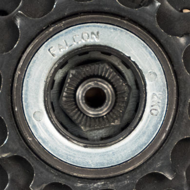 Straight-on shot of Falcon® freewheel with 12 internal splines