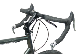 Figure 2. Bar end shifters on drop style bars