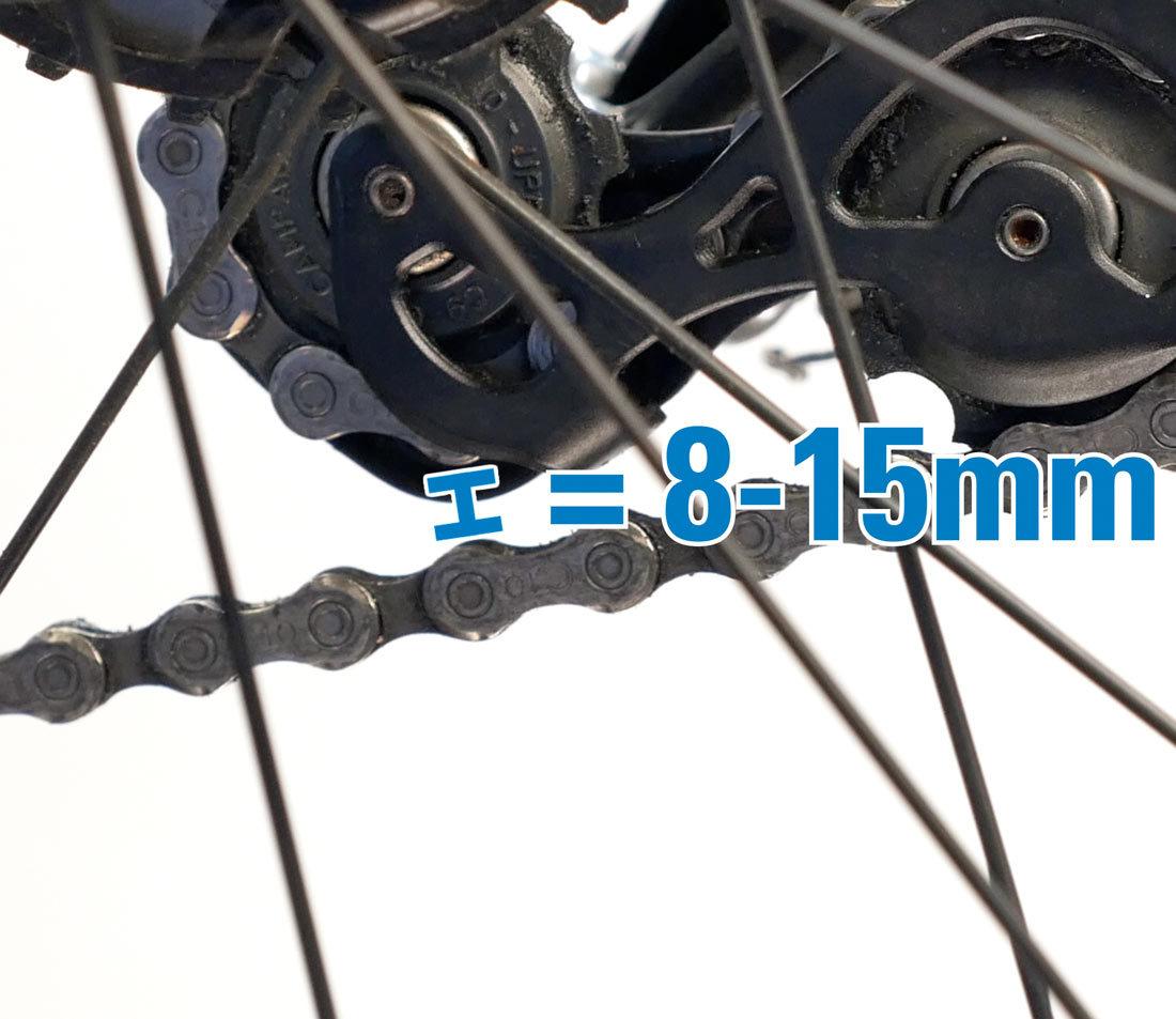 Gap should be 8–15mm
