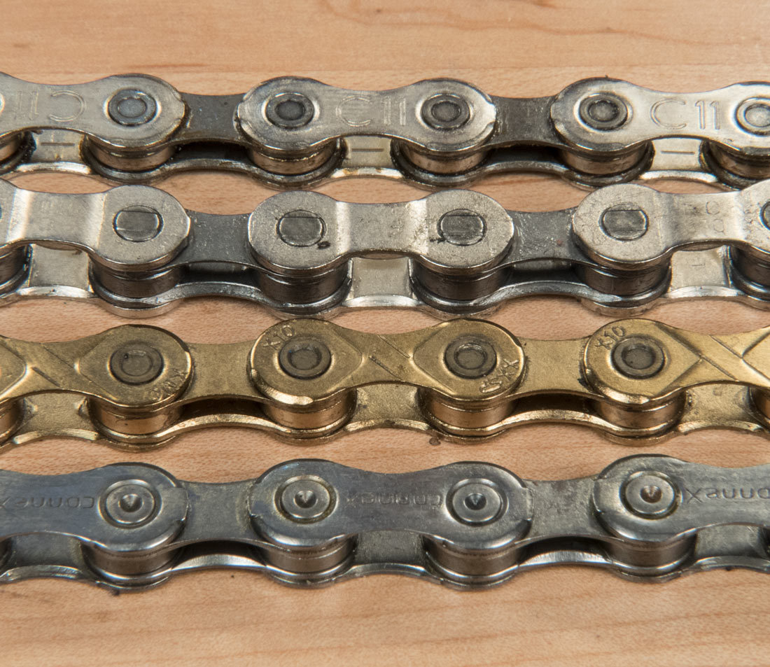 Chain compatibility park tool different shaped side plates among various manufacturers greentooth Choice Image