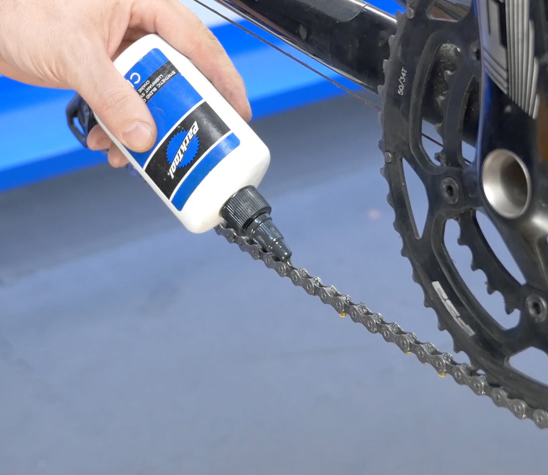Always lubricate chain after cleaning