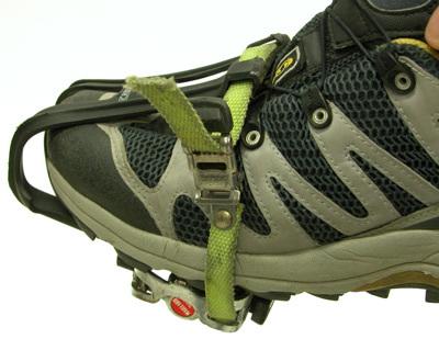 Figure 3. Toe clip and strap