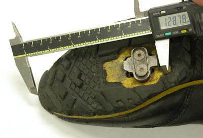 Figure 18. Fore-aft measurement