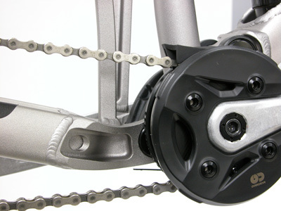 Adequate chainguide position