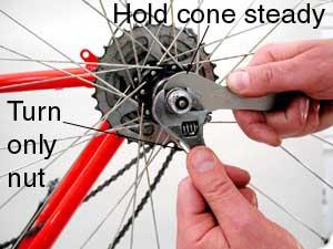 Hub Overhaul And Adjustment Cup And Cone Style Park Tool