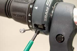 Remove set screw