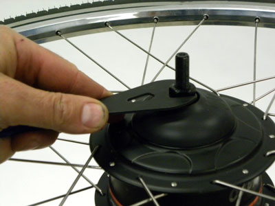 Figure 50. Remove locknut and spacer