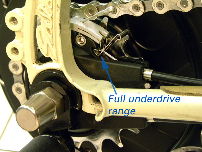 Figure 36. Underdrive mode