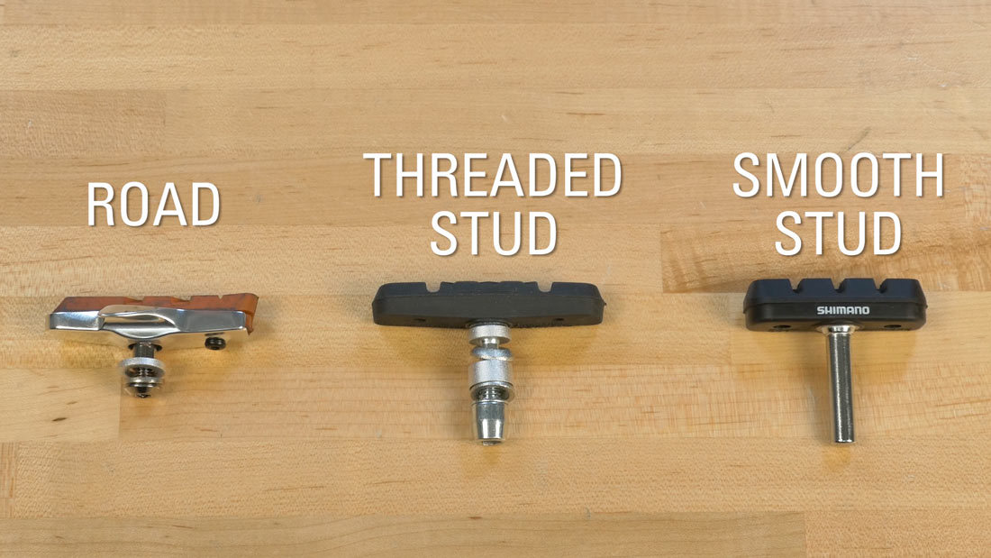 Road, Threaded Stud, and Smooth Stud pads