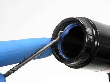 Figure 14. Remove the blue glide seal