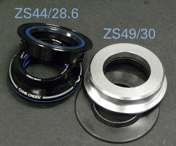 Figure 11. A reducer headset, ZS44/28.6 | ZS49/30 (Example #4)